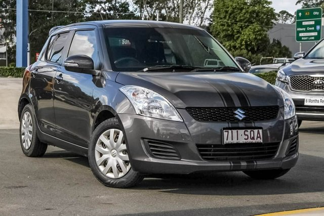 Used Suzuki Swift FZ GL, 2012 Suzuki Swift FZ GL Grey 5 Speed Manual Hatchback