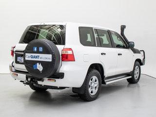 2016 Toyota Landcruiser VDJ200R MY16 GX (4x4) White 6 Speed Automatic Wagon