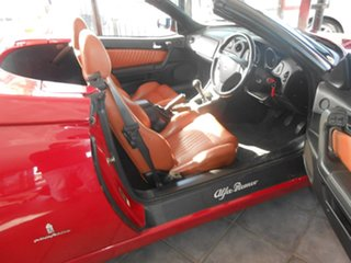 2004 Alfa Romeo Spider MY2004 JTS Red 5 Speed Manual Convertible