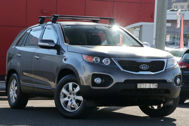 Used Kia Sorento XM MY10 SI, 2010 Kia Sorento XM MY10 SI Grey 6 Speed Sports Automatic Wagon