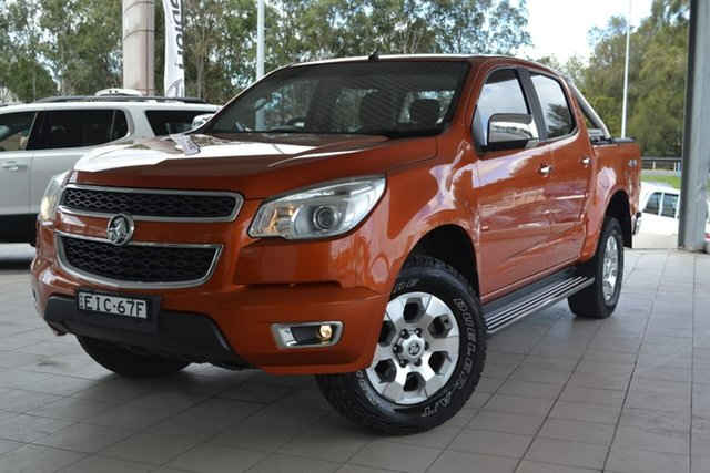 Used Holden Colorado RG MY16 LTZ Crew Cab, 2015 Holden Colorado RG MY16 LTZ Crew Cab Orange 6 Speed Sports Automatic Utility