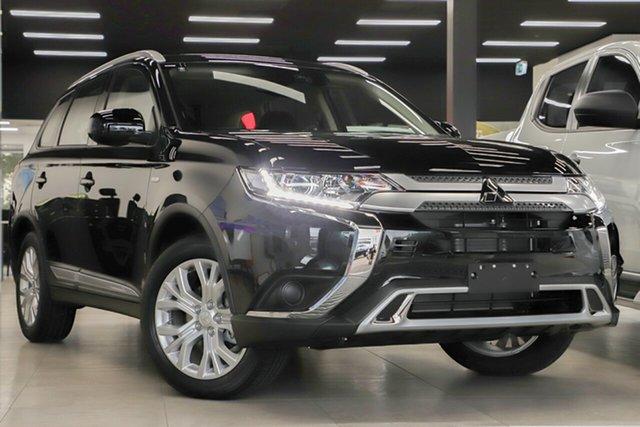 New Mitsubishi Outlander ZL MY20 ES 2WD, 2020 Mitsubishi Outlander ZL MY20 ES 2WD Black 6 Speed Constant Variable Wagon
