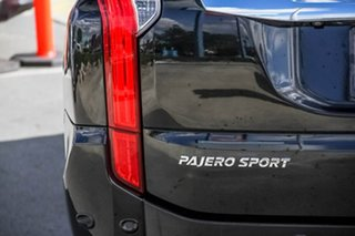 2016 Mitsubishi Pajero Sport QE MY16 Exceed Black 8 Speed Sports Automatic Wagon