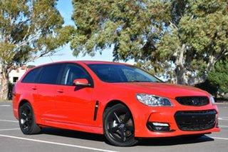 2016 Holden Commodore VF II MY16 SV6 Sportwagon Red 6 Speed Sports Automatic Wagon.