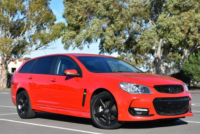 Used Holden Commodore VF II MY16 SV6 Sportwagon, 2016 Holden Commodore VF II MY16 SV6 Sportwagon Red 6 Speed Sports Automatic Wagon