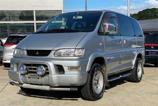 2005 Mitsubishi Delica PD6W Spacegear Silver Automatic Van Wagon.