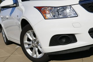 2013 Holden Cruze JH MY14 CD White 6 Speed Automatic Sportswagon.