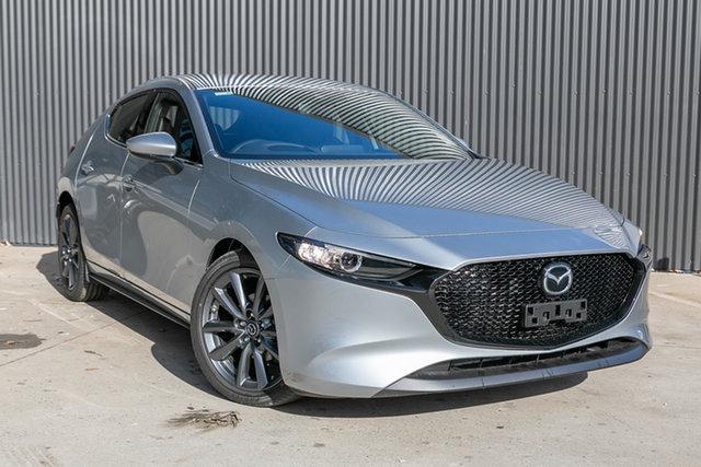 New Mazda 3 BP2H7A G20 SKYACTIV-Drive Touring, 2020 Mazda 3 BP2H7A G20 SKYACTIV-Drive Touring Sonic Silver 6 Speed Sports Automatic Hatchback
