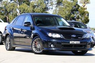 2010 Subaru Impreza MY11 WRX (AWD) Black 5 Speed Manual Sedan.
