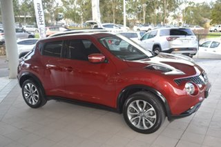 2015 Nissan Juke F15 Series 2 ST X-tronic 2WD Red 1 Speed Hatchback.