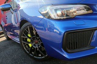 2018 Subaru WRX V1 MY18 STI AWD Premium Blue 6 Speed Manual Sedan.