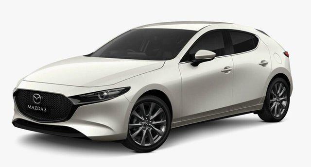 Demo Mazda 3 BP2HLA G25 SKYACTIV-Drive Evolve, 2020 Mazda 3 BP2HLA G25 SKYACTIV-Drive Evolve Snowflake White Pearl 6 Speed Sports Automatic