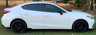 2015 Mazda 3 BM5236 SP25 SKYACTIV-MT White 6 Speed Manual Sedan.