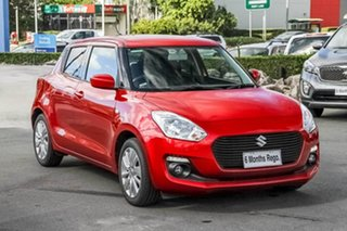 2018 Suzuki Swift AZ GL Navigator Red 1 Speed Hatchback.