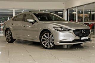 2019 Mazda 6 GL1033 Atenza SKYACTIV-Drive Silver 6 Speed Sports Automatic Sedan.