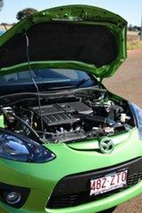 2008 Mazda 2 DE Genki Spiritedgreen 5 Speed Manual Hatchback