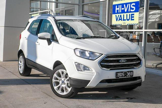 Used Ford Ecosport BL 2019.25MY Titanium, 2019 Ford Ecosport BL 2019.25MY Titanium White 6 Speed Automatic Wagon