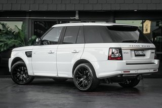 2012 Land Rover Range Rover Sport L320 13MY SDV6 Luxury White 6 Speed Sports Automatic Wagon.