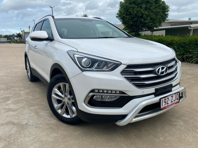 Used Hyundai Santa Fe DM3 MY17 Elite, 2016 Hyundai Santa Fe DM3 MY17 Elite White 6 Speed Sports Automatic Wagon