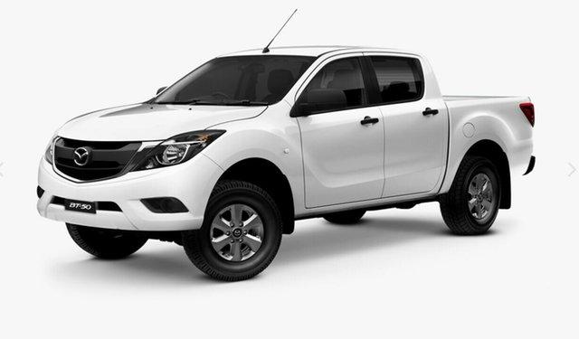 Demo Mazda BT-50 UR0YG1 XT 4x2 Hi-Rider, 2020 Mazda BT-50 UR0YG1 XT 4x2 Hi-Rider Cool White 6 Speed Sports Automatic Utility