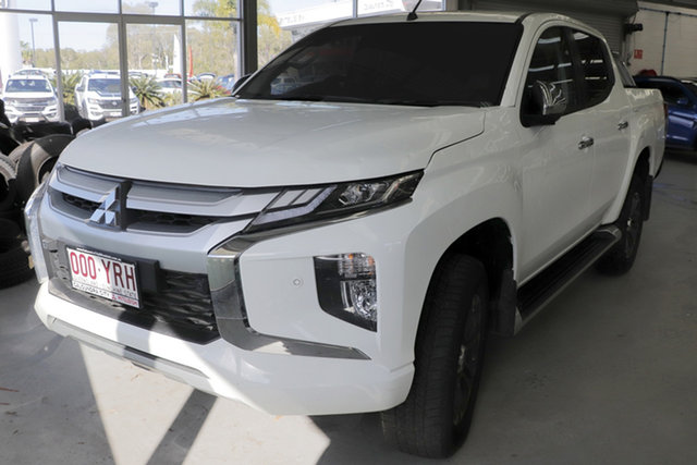 Used Mitsubishi Triton MR MY19 GLS Double Cab, 2018 Mitsubishi Triton MR MY19 GLS Double Cab White 6 Speed Manual Utility