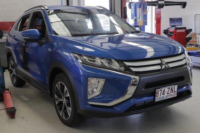 Demo Mitsubishi Eclipse Cross YA MY19 ES 2WD, 2019 Mitsubishi Eclipse Cross YA MY19 ES 2WD Lightning Blue 8 Speed Wagon