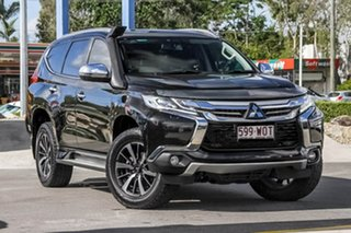 2016 Mitsubishi Pajero Sport QE MY16 Exceed Black 8 Speed Sports Automatic Wagon.