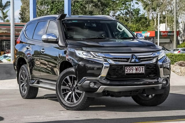 Used Mitsubishi Pajero Sport QE MY16 Exceed, 2016 Mitsubishi Pajero Sport QE MY16 Exceed Black 8 Speed Sports Automatic Wagon