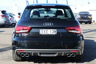 2018 Audi S1 8X MY18 Sportback Quattro Black 6 Speed Manual Hatchback