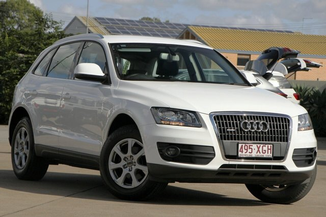 Used Audi Q5 8R MY12 TFSI S Tronic Quattro, 2012 Audi Q5 8R MY12 TFSI S Tronic Quattro White 7 Speed Sports Automatic Dual Clutch Wagon