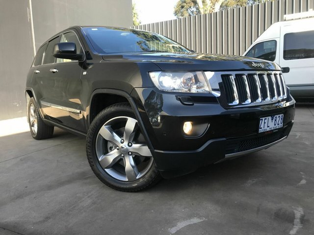 Used Jeep Grand Cherokee WK Limited (4x4), 2012 Jeep Grand Cherokee WK Limited (4x4) Black 5 Speed Automatic Wagon