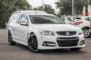 2015 Holden Ute VF MY15 SS Ute Storm White 6 Speed Sports Automatic Utility.