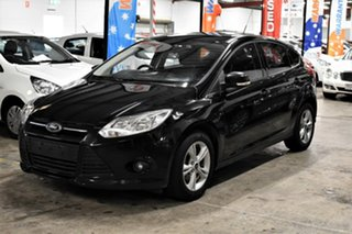 2013 Ford Focus LW MkII Trend PwrShift Metallic Black 6 Speed Sports Automatic Dual Clutch Hatchback