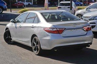 2015 Toyota Camry ASV50R Atara SX Silver 6 Speed Sports Automatic Sedan.