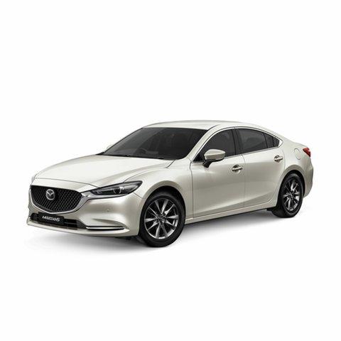 Demo Mazda 6 GL1032 Touring SKYACTIV-Drive, 2019 Mazda 6 GL1032 Touring SKYACTIV-Drive Snowflake White Pearl 6 Speed Sports Automatic Sedan
