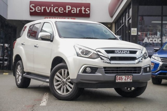 Used Isuzu MU-X MY18 LS-U Rev-Tronic 4x2, 2018 Isuzu MU-X MY18 LS-U Rev-Tronic 4x2 White 6 Speed Sports Automatic Wagon