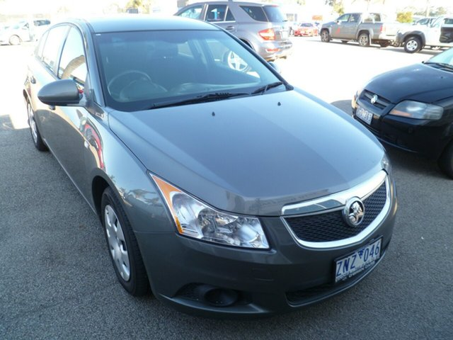 Used Holden Cruze JH Series II MY12 CD, 2012 Holden Cruze JH Series II MY12 CD Grey 6 Speed Sports Automatic Hatchback
