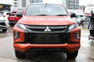 2020 Mitsubishi Triton MR MY20 GSR Double Cab Sunflare Orange 6 Speed Sports Automatic Utility