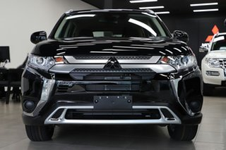 2020 Mitsubishi Outlander ZL MY20 ES 2WD Black 6 Speed Constant Variable Wagon