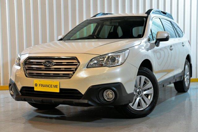 Used Subaru Outback B6A MY15 2.0D AWD, 2015 Subaru Outback B6A MY15 2.0D AWD White 6 Speed Manual Wagon