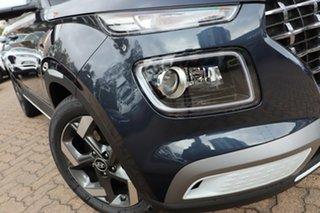 2020 Hyundai Venue QX.2 MY20 Elite (denim Interior) The Denim & White Roof 6 Speed Automatic Wagon.