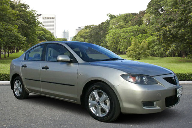 Used Mazda 3 BK10F2 Neo, 2007 Mazda 3 BK10F2 Neo Gold 4 Speed Sports Automatic Hatchback