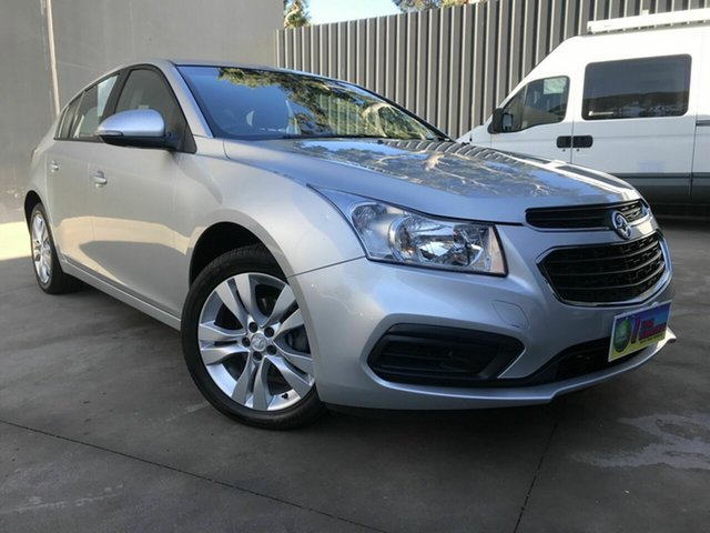 Used Holden Cruze JH MY15 Equipe, 2015 Holden Cruze JH MY15 Equipe Silver 6 Speed Automatic Hatchback