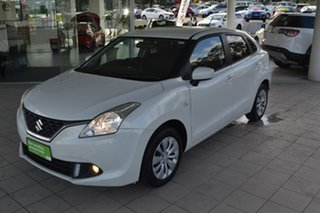 2017 Suzuki Baleno EW GL White 4 Speed Automatic Hatchback