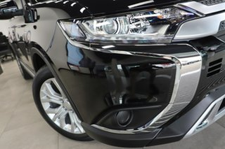 2020 Mitsubishi Outlander ZL MY20 ES 2WD Black 6 Speed Constant Variable Wagon.