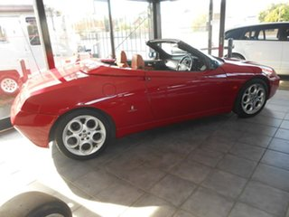 2004 Alfa Romeo Spider MY2004 JTS Red 5 Speed Manual Convertible.