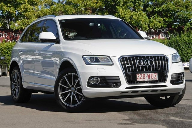 Used Audi Q5 8R MY16 TFSI Tiptronic Quattro Sport Edition, 2016 Audi Q5 8R MY16 TFSI Tiptronic Quattro Sport Edition White 8 Speed Sports Automatic Wagon