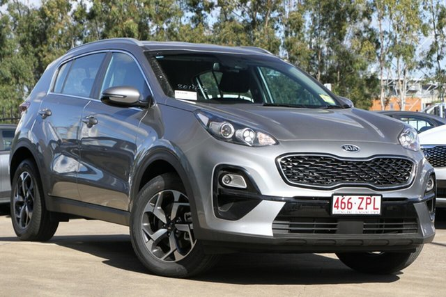 Demo Kia Sportage QL MY20 S 2WD, 2020 Kia Sportage QL MY20 S 2WD Steel Grey 6 Speed Sports Automatic Wagon