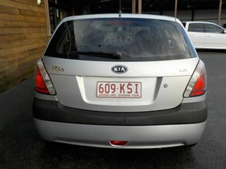 2007 Kia Rio JB MY07 LX Silver 4 Speed Automatic Hatchback