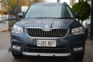 2014 Skoda Yeti 5L MY14 77TSI DSG Active Grey Metallic 7 Speed Sports Automatic Dual Clutch Wagon.